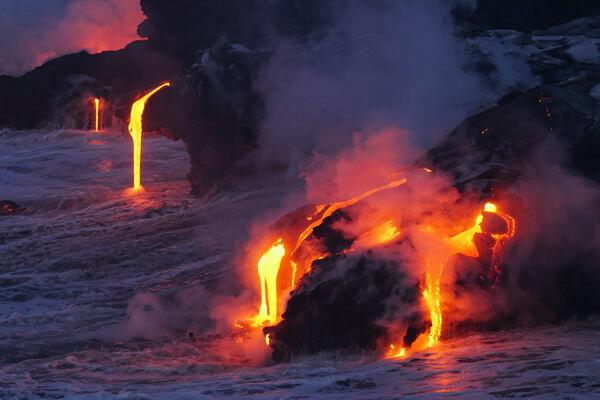 Природные достопримечательности США с фото и описанием - Вулкан Килауэа