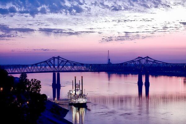 Природные достопримечательности США с фото и описанием - Река Миссисипи