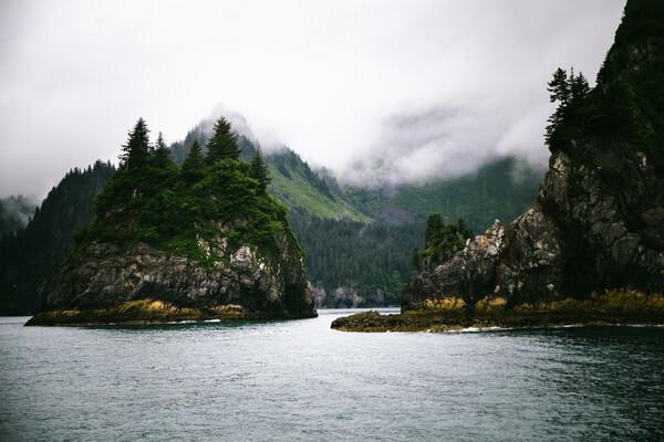 Природные достопримечательности США с фото и описанием - Кенай-Фьордс
