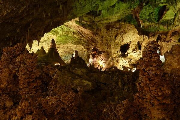 Природные достопримечательности США с фото и описанием - Карлсбадские пещеры