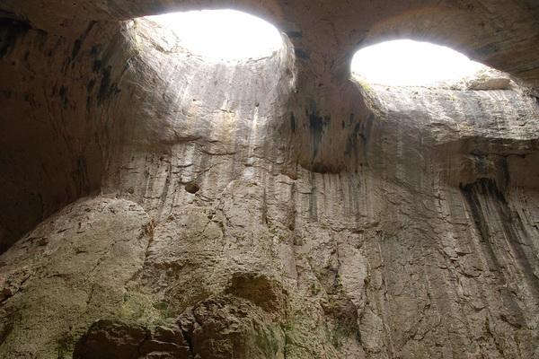 Пещера Глаза Бога в Болгарии - как добраться