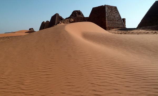 Загадочные пирамиды Судана в Мероэ