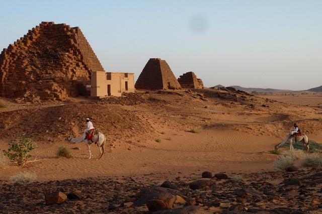Пирамиды Мероэ в Судане