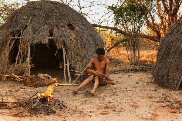 Быт племени бушменов