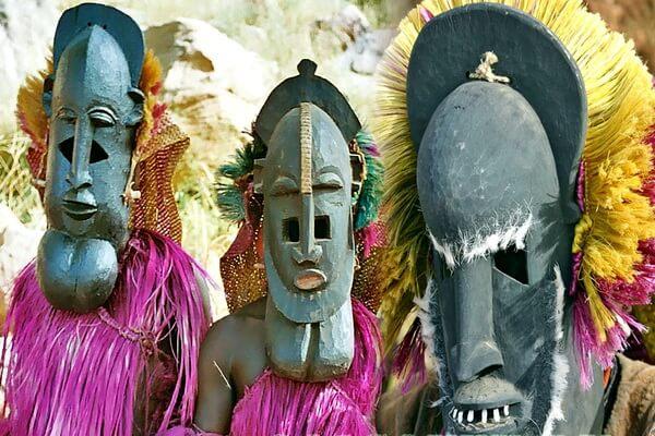 История племени догонов