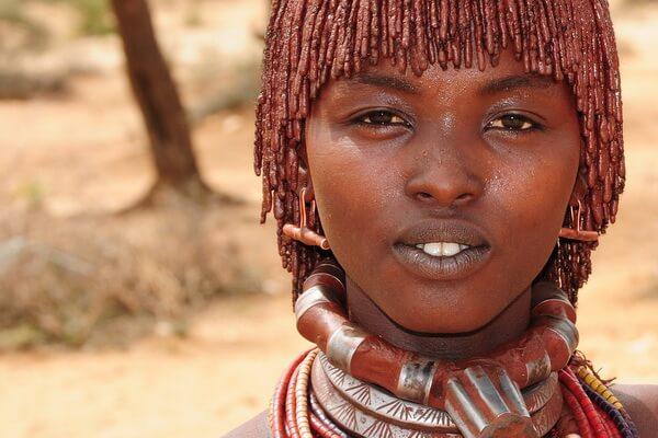 Девушки племени хамер