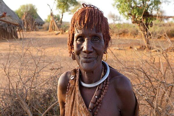 Эфиопское племя хамер - обычаи и традиции