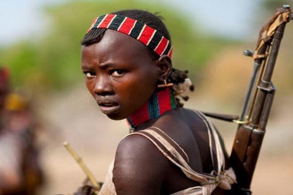 Фото людей племени хамер в Эфиопии