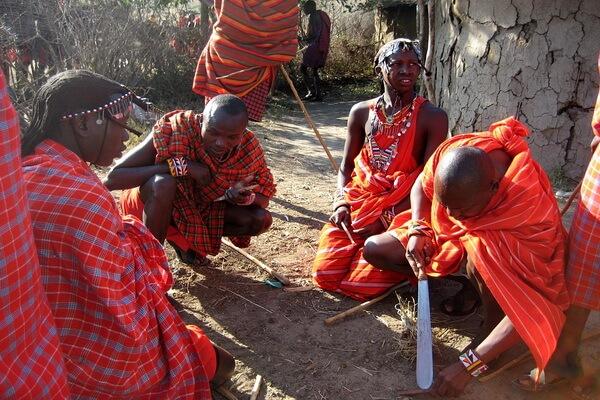 Масаи в Африке - история племени воинов