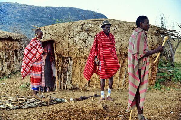 Жизненный уклад и быт племя масаев
