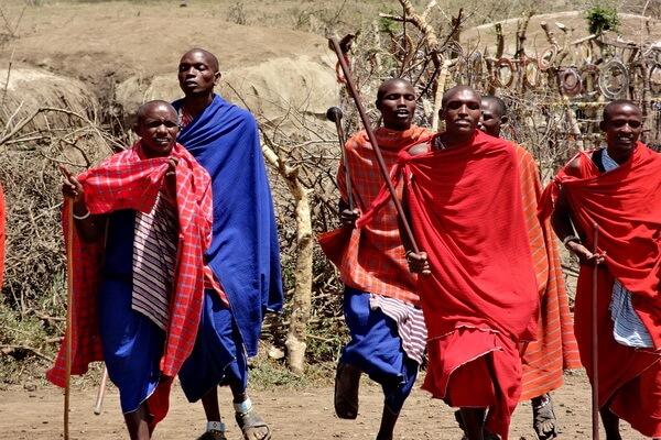 Традиции и обычаи масаев