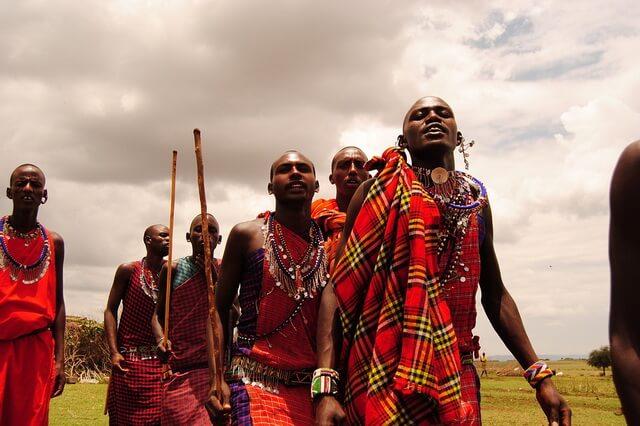 Племя масаи в Африке - быт, традиции, обычаи