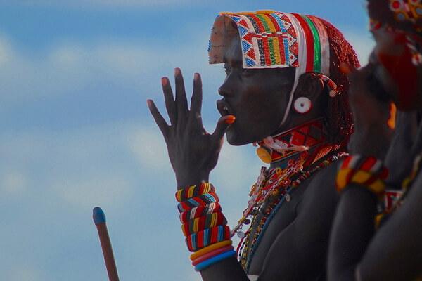 Племя самбуру и его обычаи