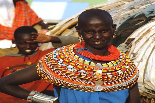 Племя самбуру в Кении - быт, традиции и обычаи