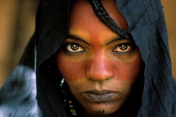 Женщины племени туареги