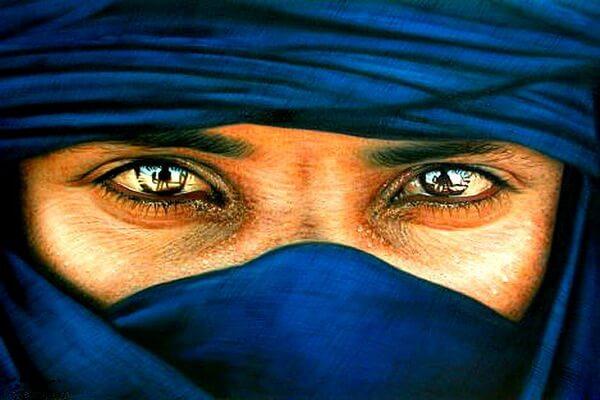 Мужчины туареги - красивые фото