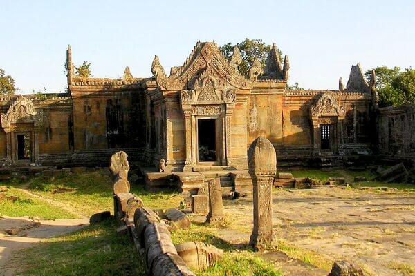 Архитектура Прэахвихеа - храма кхмеров в Камбодже
