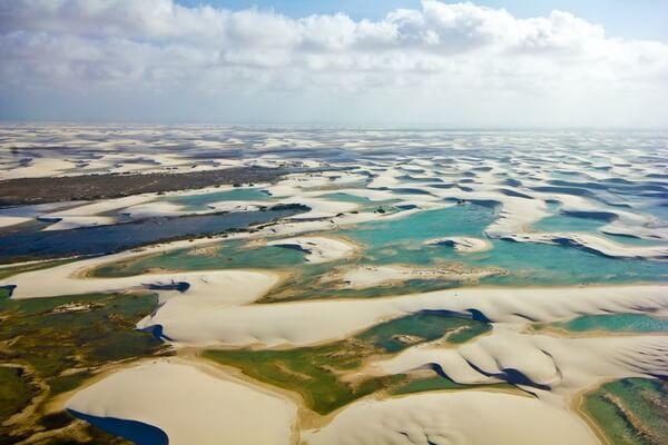 Природные достопримечательности Бразилии с фото и описанием - Ленсойс-Мараньенсис
