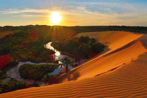 Природные достопримечательности Бразилии с фото и описанием - Дюны Халапау