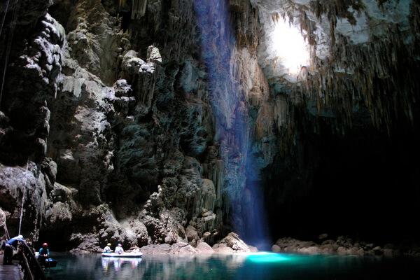 Природные достопримечательности Бразилии с фото и описанием - Пещера Абисму-Гуй-Колет
