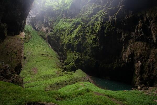 Пещера Мацоха в Чехии - крупнейший карстовый провал в Европе
