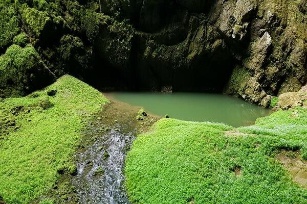 Фото пещеры Мацоха в Чехии