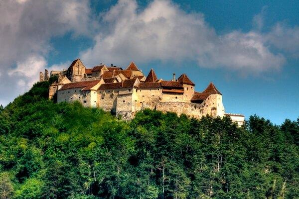 Достопримечательности Трансильвании - Крепость Рышнова