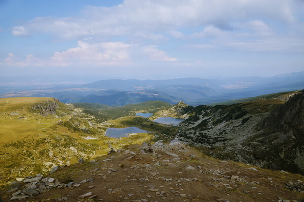 Легенда про Рильские озёра в Болгарии