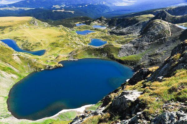 Семь Рильских озёр Болгарии с фото и названиями - Окото или Глаз