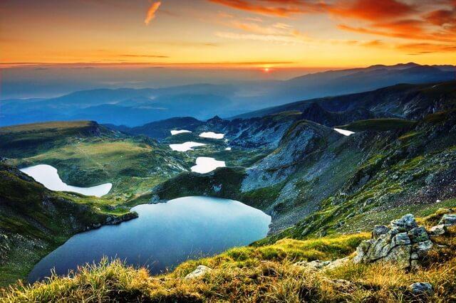 Семь Рильских озёр Болгарии - фото, названия, описание