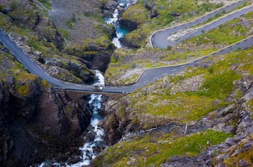 Экстремальная Дорога Троллей в Норвегии