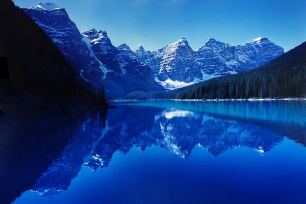 Пейзажи Скалистых гор Канады