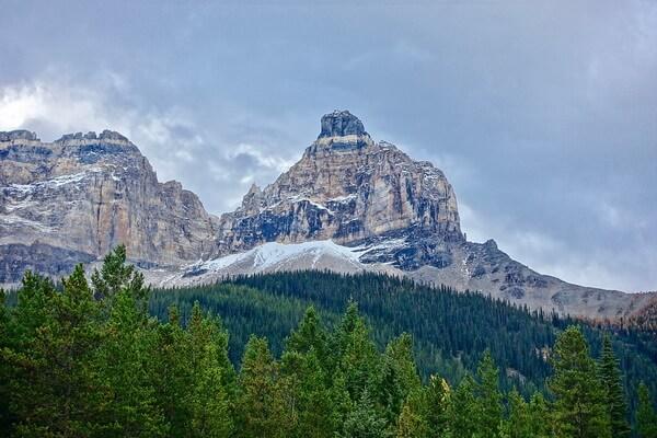 Скалистые горы - красивые фото пейзажей