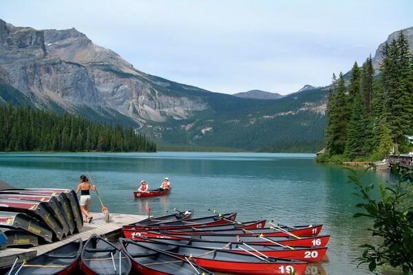 Отдых в Rocky Mountains в Северной Америке
