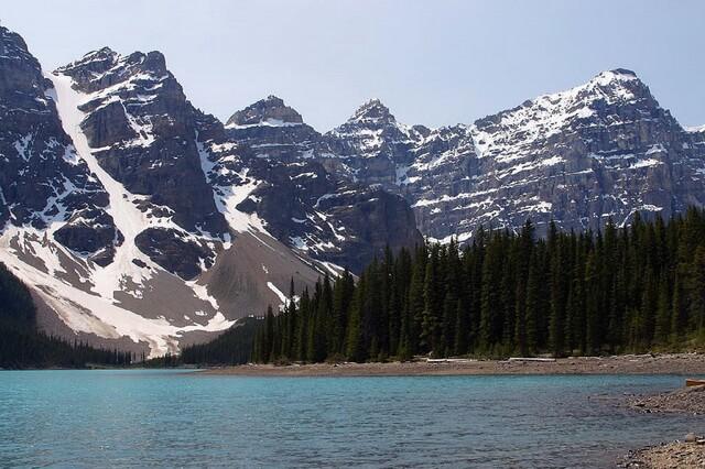 Скалистые горы в Северной Америке