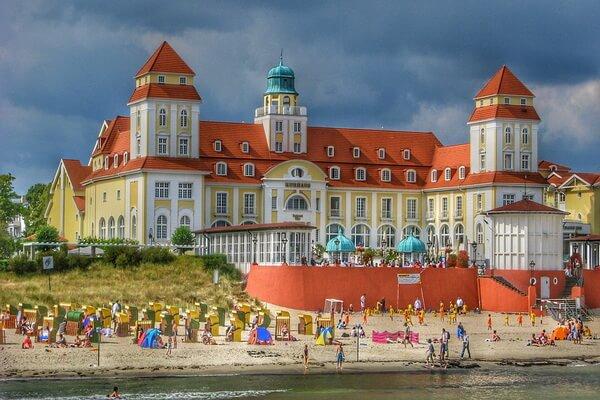 Интересные места и достопримечательности острова Рюген в Германии