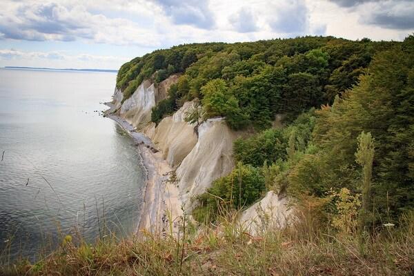 Меловые скалы острова Рюген