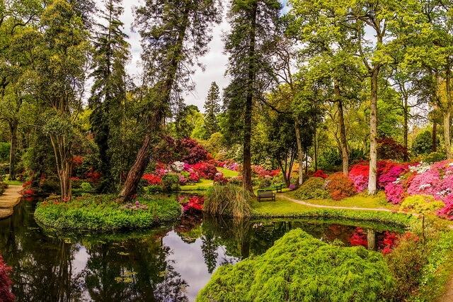 Сады Эксбери - шедевр садово-паркового искусства Англии