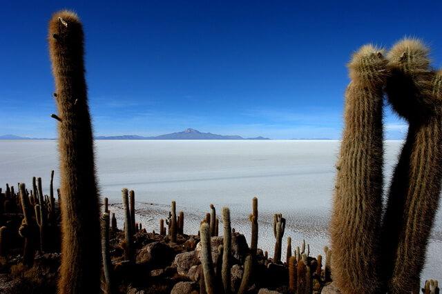 Солончак Уюни - чудо природы Боливии