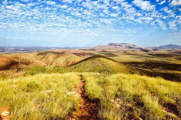 Длинные тропы мира - Тропа Ларапинта, Австралия (223 км)