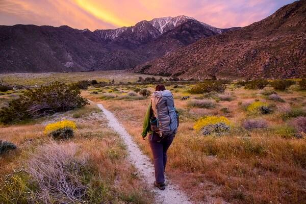 Самые длинные тропы мира - Маршрут тихоокеанского хребта, США (4286 км)