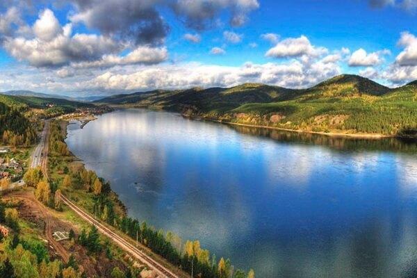 Самые длинные реки Азии с фото и описанием - Енисей (3487 км)