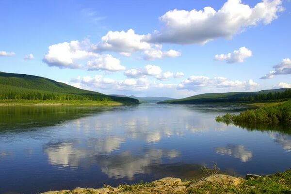Самые длинные реки Азии с фото и описанием - Нижняя Тунгуска (2989 км)