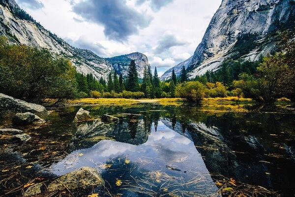 Самые красивые долины с фото и описанием - Йосемитская долина в США