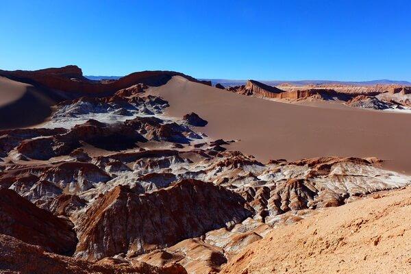 Самые красивые долины с фото и описанием - Валье-де-ла-Луна или Лунная долина Чили