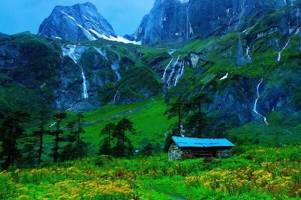 Самые красивые долины с фото и описанием - Долина Барун в Непале