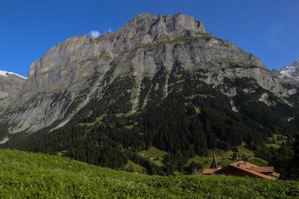Самые красивые горы в мире с фото и описанием - Эйгер в Швейцарии