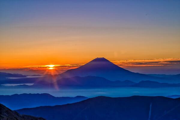 Самые красивые горы в мире с фото и описанием - Фудзияма в Японии