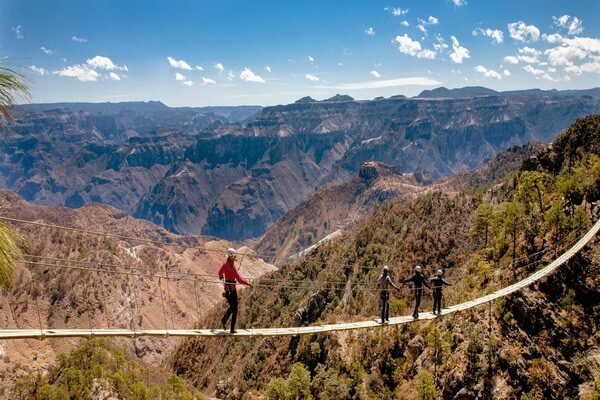 Самые красивые каньоны мира - Медный каньон в Мексике