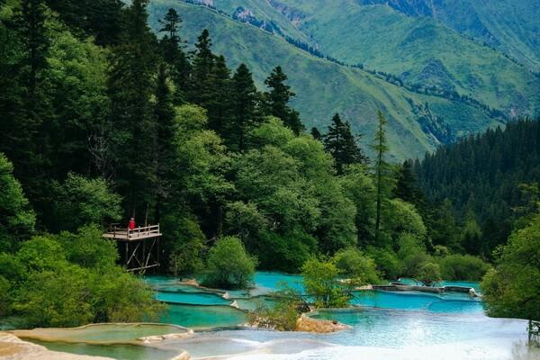 Самые необычные леса мира - Долина Цзючжайгоу в Китае